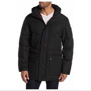 Michael Kors men's black puffer jacket